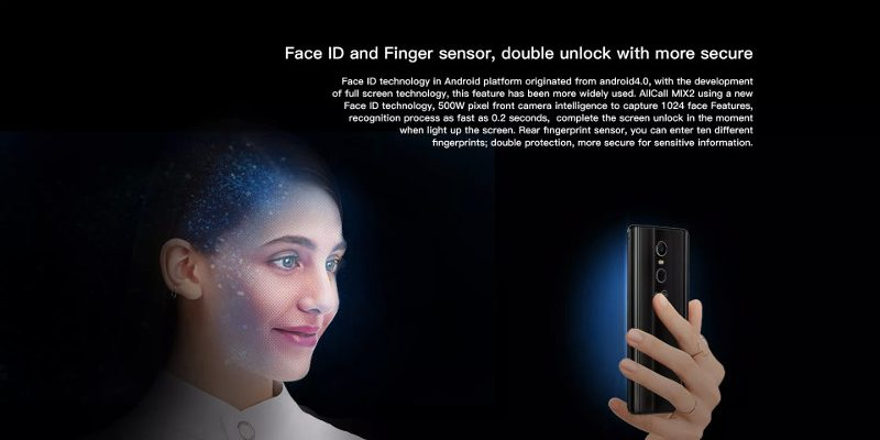Face ID — Allcall Mix 2