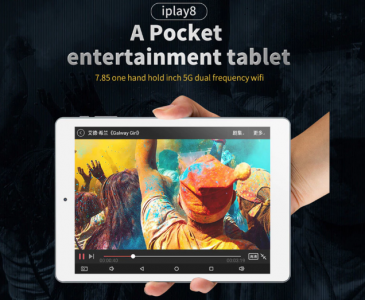 ALLDOCUBE iPlay 8 Tablet PC  —  1GB + 16GB  GRAY