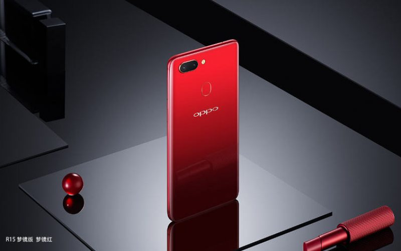 OPPO R15 Dream Mirror — красный