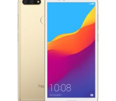 Honor 7A в цвете Platinum Gold