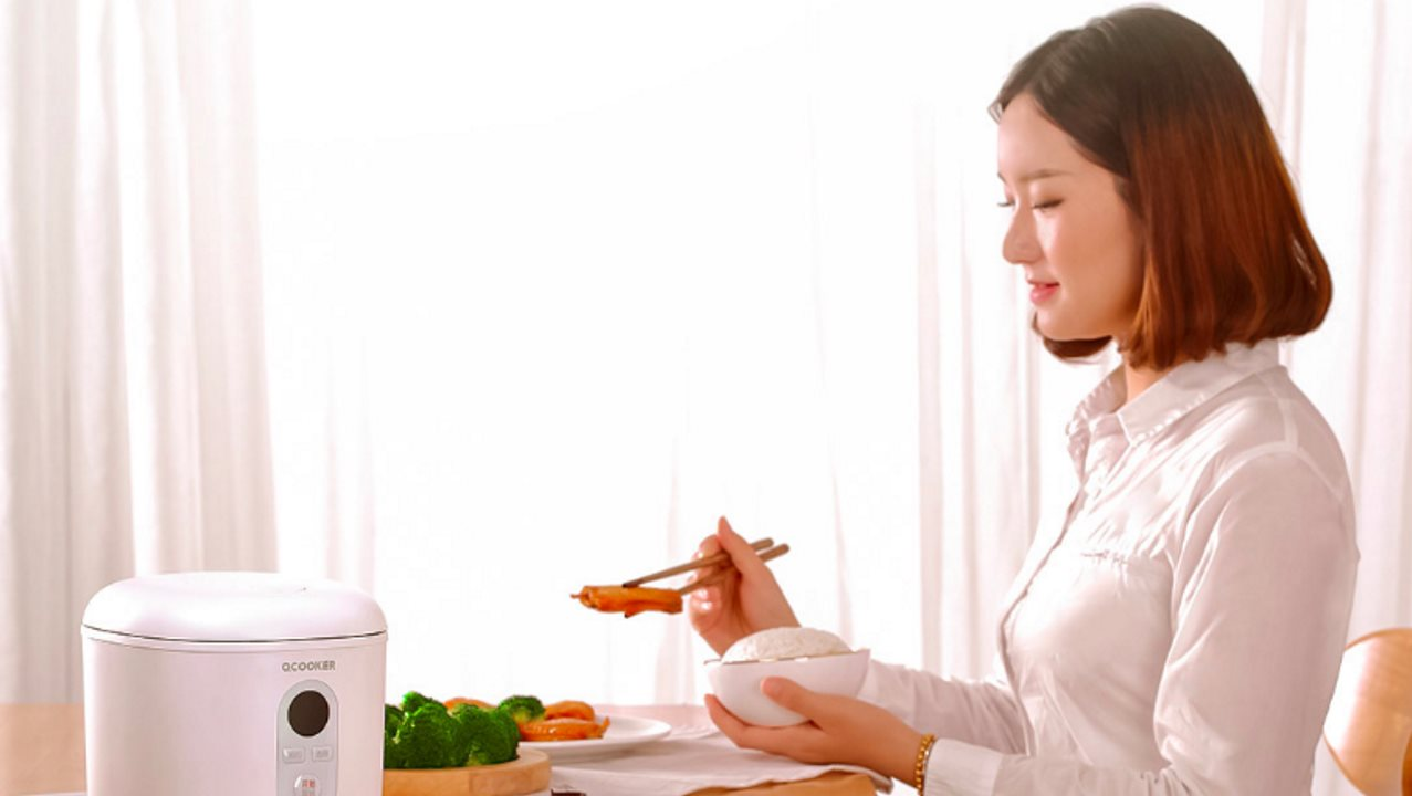 oCooker Compact 1.2L Mini Cooker от Xiaomi