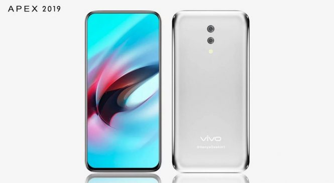 Представлен Vivo APEX 2019: без фронтальной камеры и отверстий, первый 5G смартфон
