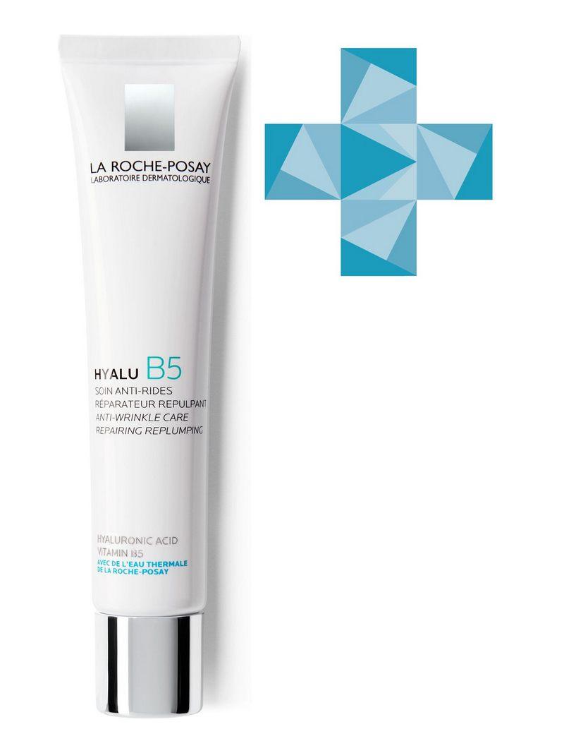 La Roche-Posay Hyalu B5 Anti-Wrinkle Care Увлажняющий крем для лица, шеи и области декольте