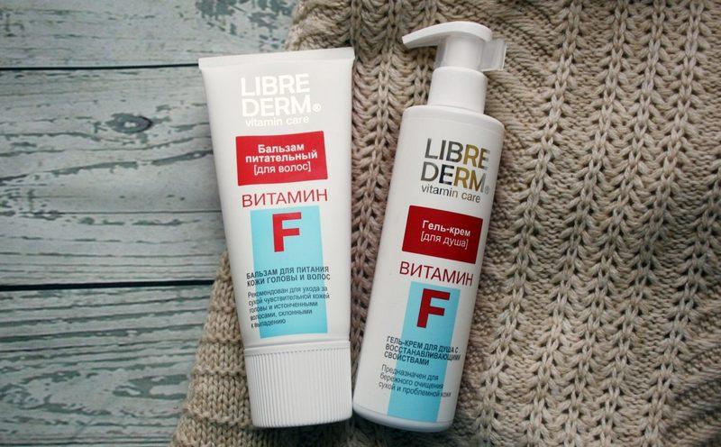 Librederm бальзам питательный Витамин F для кожи головы и волос