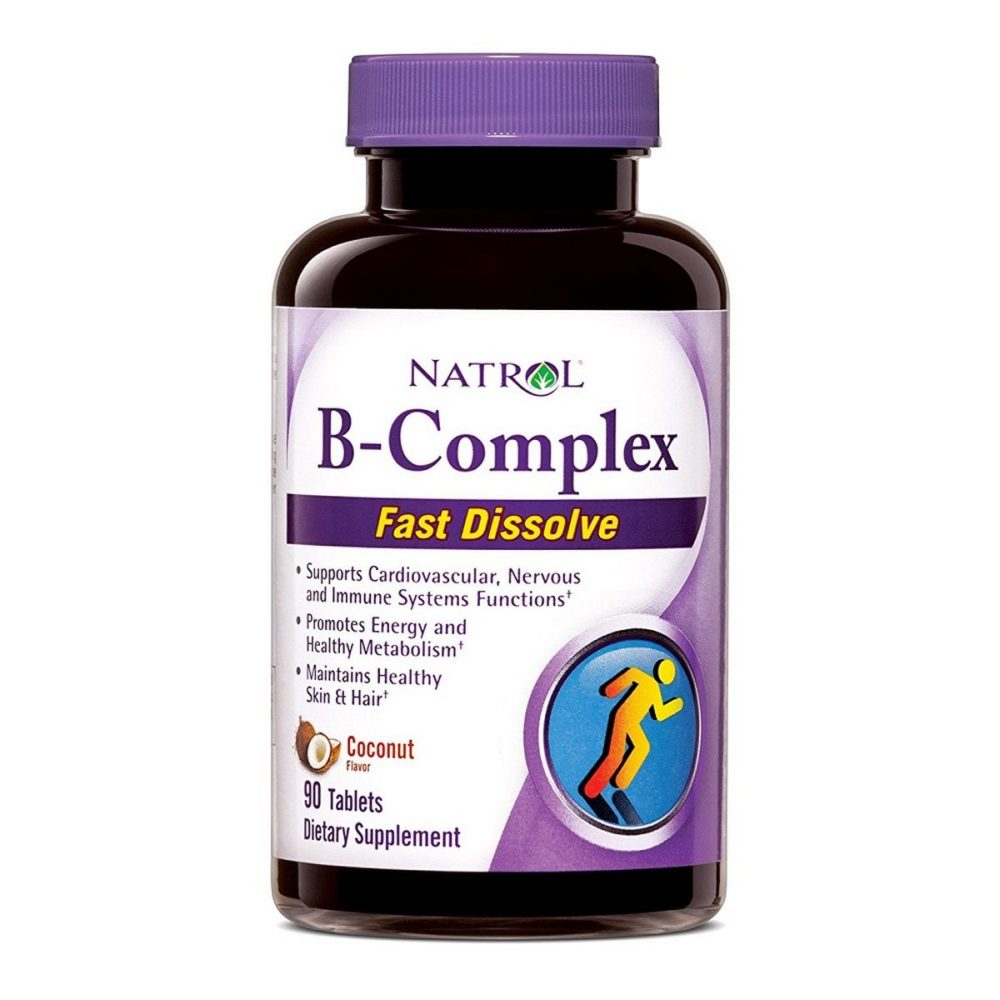 B-Complex Fast Dissolve Coconut Flavor
