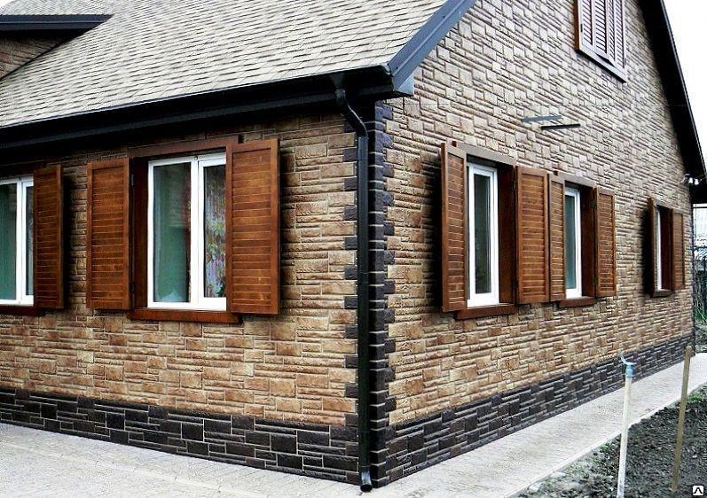 Каменные фасадные панели