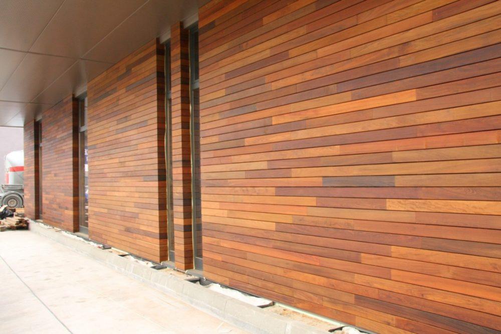 фасадные панели из древесных волокон